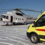 Вертолет санитарной авиации PegasMed